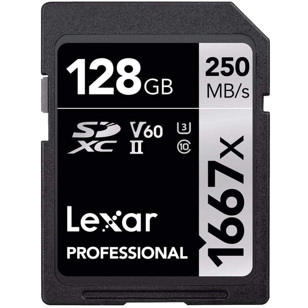 Original Lexar 1667x V60 250MB/s Flash Memory sd cards 64gb 128GB UHS- heros-shop 02