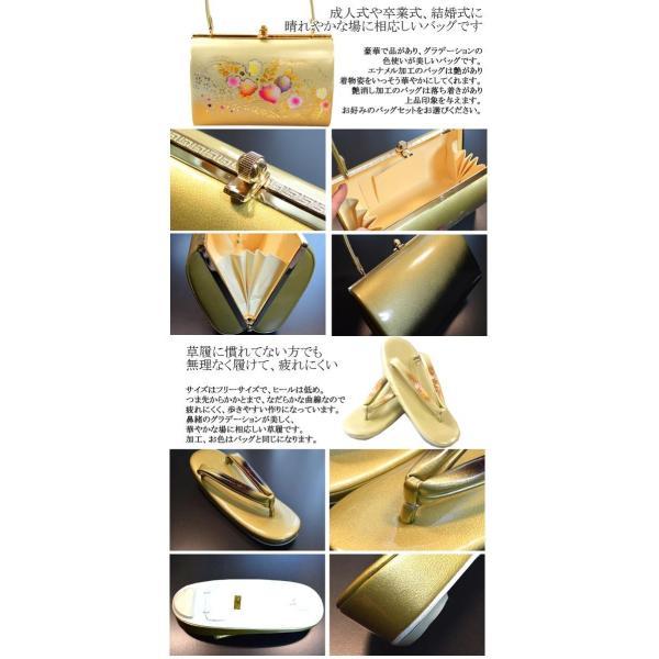 ぞうり 女性レディース草履バッグセット/2サイズ6タイプ|hesaka|02