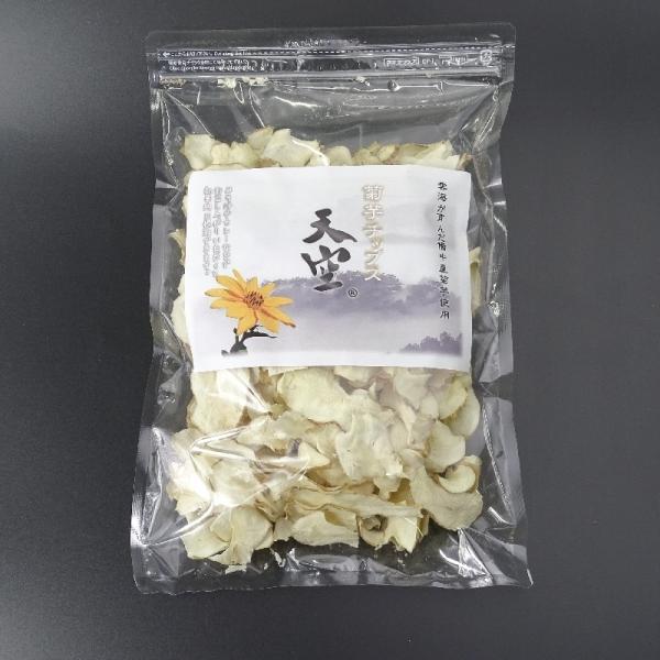 菊芋 菊芋チップス 極薄仕上げで柔らかい 国産無農薬 送料無料 チャック付きパック100g 乾燥スライス hey-com-bicchu 03