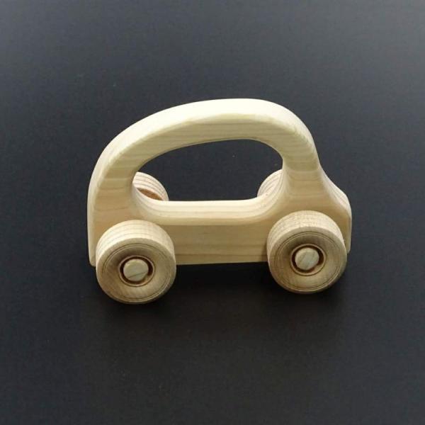 国産木剤使用で安心のおもちゃ がらがらカー|hey-com-bicchu|04