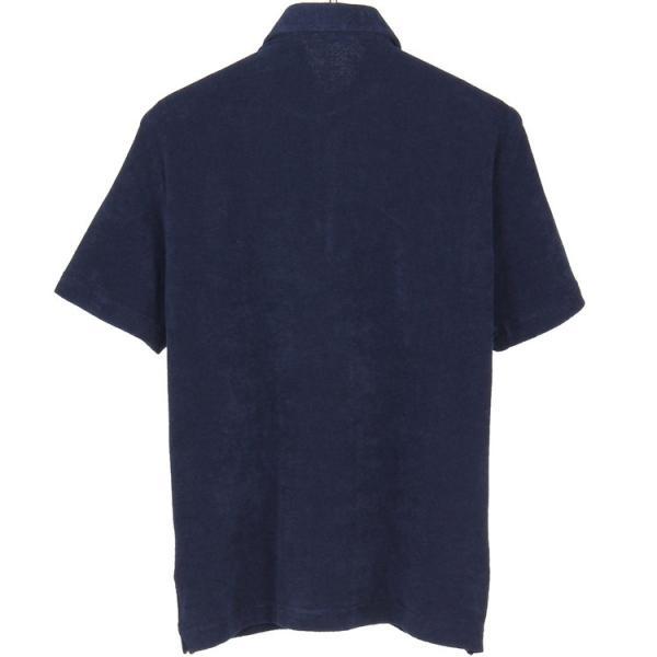 ギ・ローバー Guy Rover ポロシャツ ホリゾンタルカラー パイル hff 02