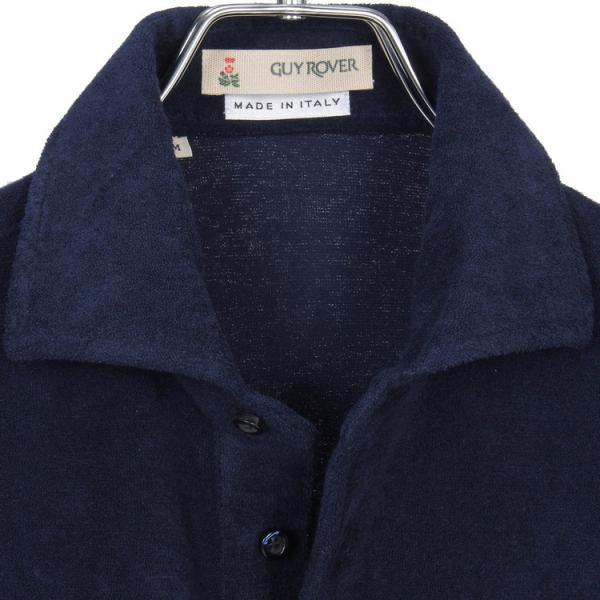ギ・ローバー Guy Rover ポロシャツ ホリゾンタルカラー パイル hff 03