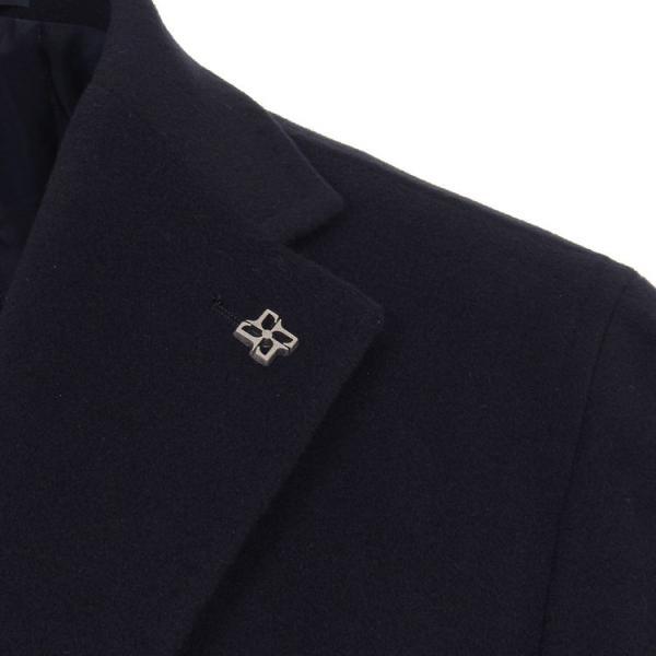 タリアトーレ シングルチェスターコート CSBL13X ウールカシミア Tagliatore 正規販売店|hff|03