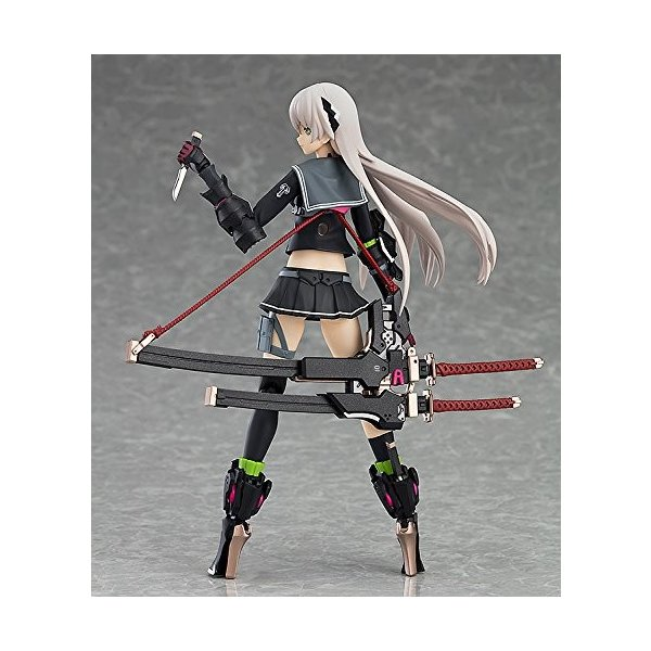 figma 重兵装型女子高生 壱 ノンスケール ABS&PVC製 塗装済み可動フィギュア|hfs05|06