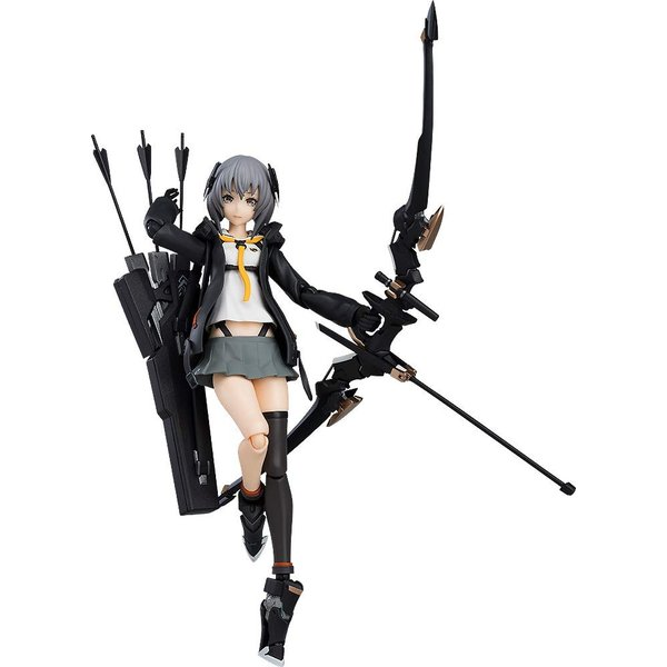 figma 重兵装型女子高生 陸 ノンスケール ABS&PVC製 塗装済み可動フィギュア hfs05