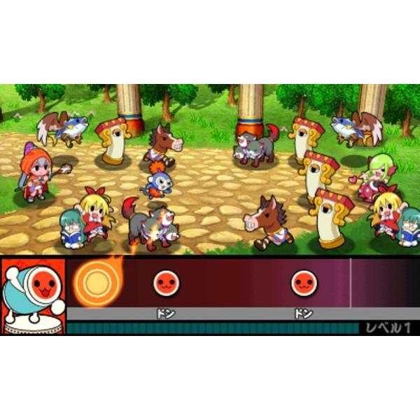 太鼓の達人 ドコドン! ミステリーアドベンチャー - 3DS|hfs05|04