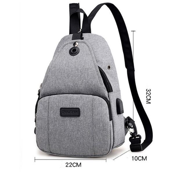 リュック ショルダー レディース 2WAYバッグ USBポート付き  |hfs05|04