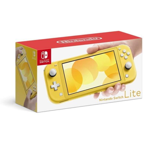 ニンテンドースイッチライトイエロー本体NintendoSwitchLite任天堂