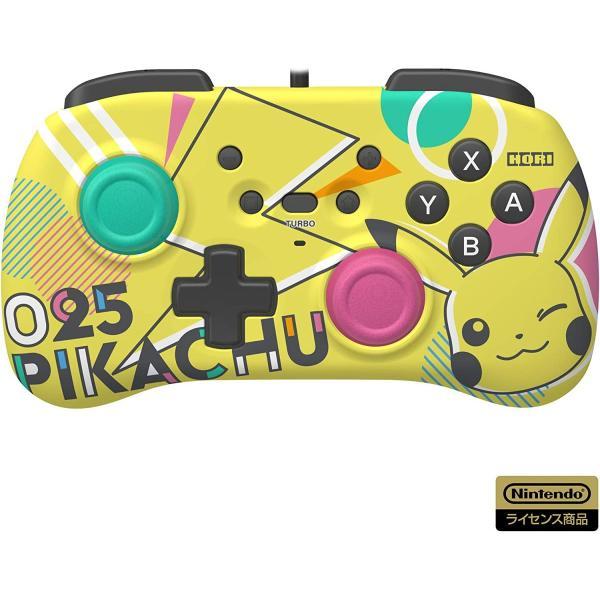 任天堂ライセンス商品 ホリパッドミニ for Nintendo Switch ピカチュウ Nintendo Switch対応 hfs05