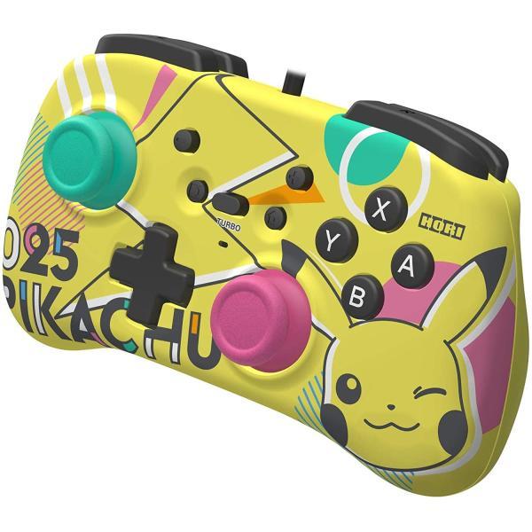 任天堂ライセンス商品 ホリパッドミニ for Nintendo Switch ピカチュウ Nintendo Switch対応 hfs05 03
