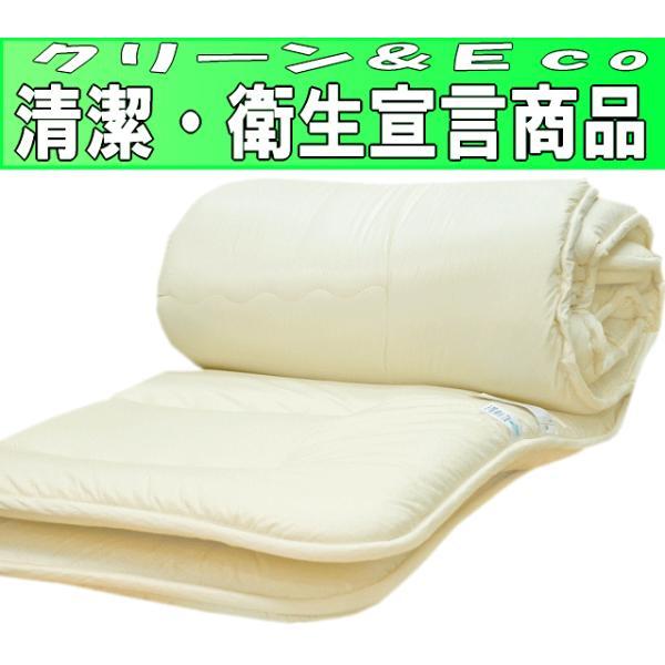 布団セット シングルサイズ 日本製 制抗菌・防ダニアレルギーの方 ドクターEs-0ウォシュ洗える組布団セットシングル6ND|hghr|08