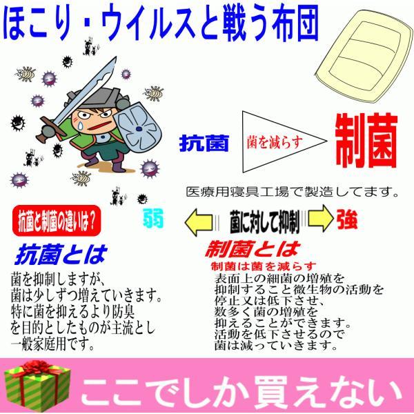布団セット シングル 組布団セット  体が浮いているような 日本製 病院採用 防ダニ掛け敷き体圧分散ボリューム敷布団セットEs-O|hghr|02