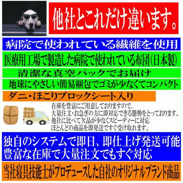 布団セット シングル 組布団セット  体が浮いているような 日本製 病院採用 防ダニ掛け敷き体圧分散ボリューム敷布団セットEs-O|hghr|06