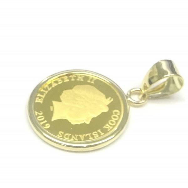 純金K24チワワDogコイン1/30オンス(4)金貨 ペンダントトップ裏面エリザベス女王英国王室造幣局(ロイヤルミント)製造【ギフトラッピング済み】/送料無料