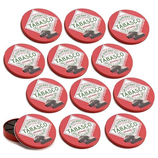 タバスコ チョコレート スパイシーダーク チョコレート 50g 12個セット 送料無料 クール便 アメリカ