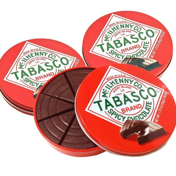 タバスコ チョコレート スパイシーダーク チョコレート 50g 3個セット 送料無料 クール便 アメリカ