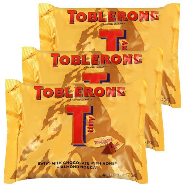 トブラローネ タイニー・ミルクバック 200g  3袋セット スイスチョコレート 送料込み クール便 輸入チョコレート