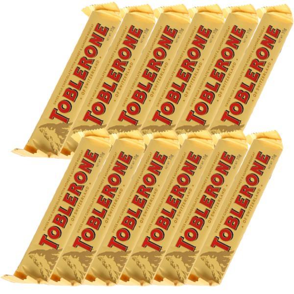 トブラローネ ミルク 35g スイスチョコレート 12本セット 送料込み クール便 輸入チョコレート