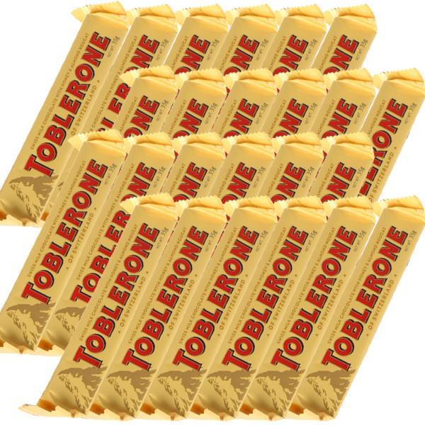 トブラローネ ミルク 35g スイスチョコレート 24本セット 送料込み クール便 輸入チョコレート