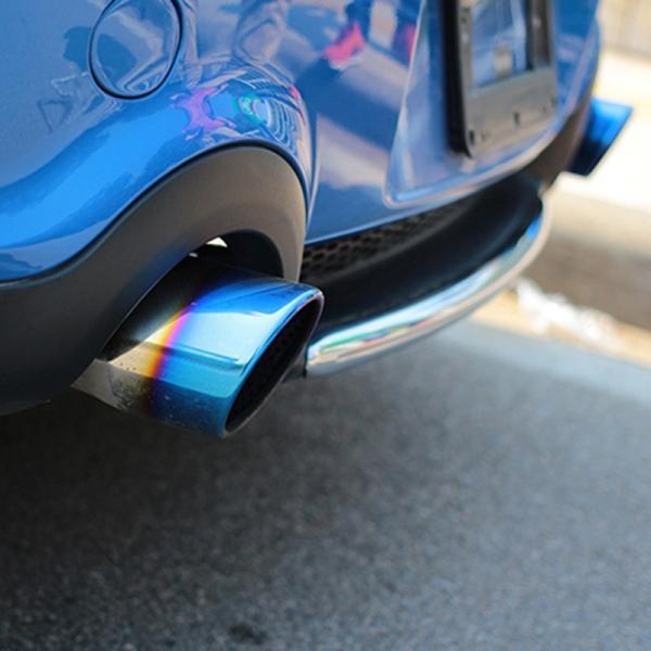 「2月13日より順次出荷」BMW ミニ MINI ワン クーパー カスタムパーツ アクセサリー 用品  エキパイ マフラーカッター MN021|hhhyautoaccessory|02