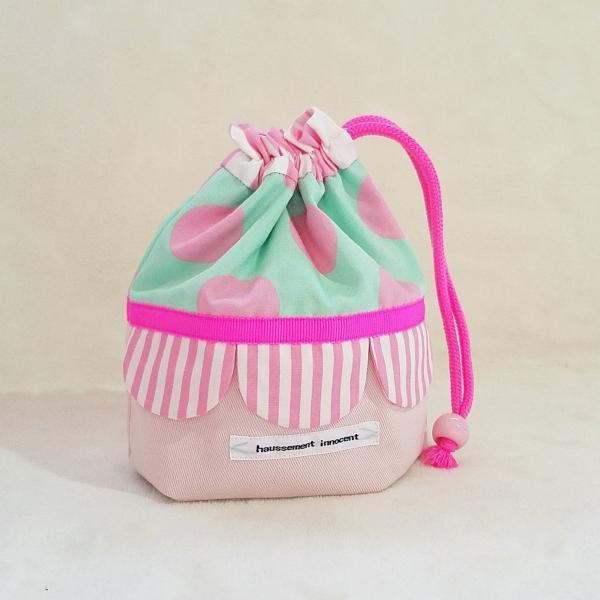 DM便送料無料 スカラップのコップ袋(受注制作)|hi-inari