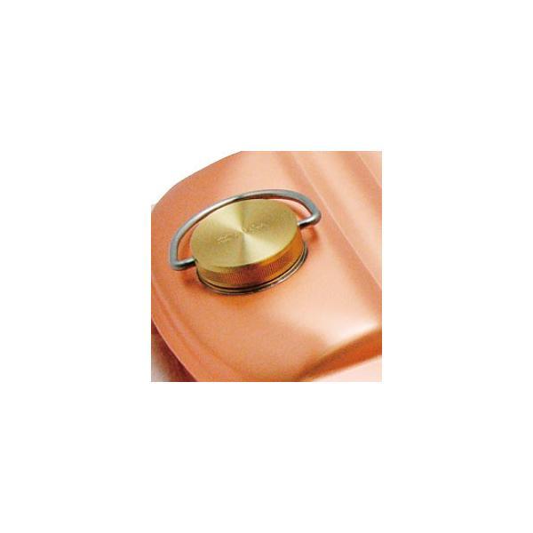 純銅 湯たんぽ ( 大 / 袋付 ) 銅製 湯たんぽ hi-select 02
