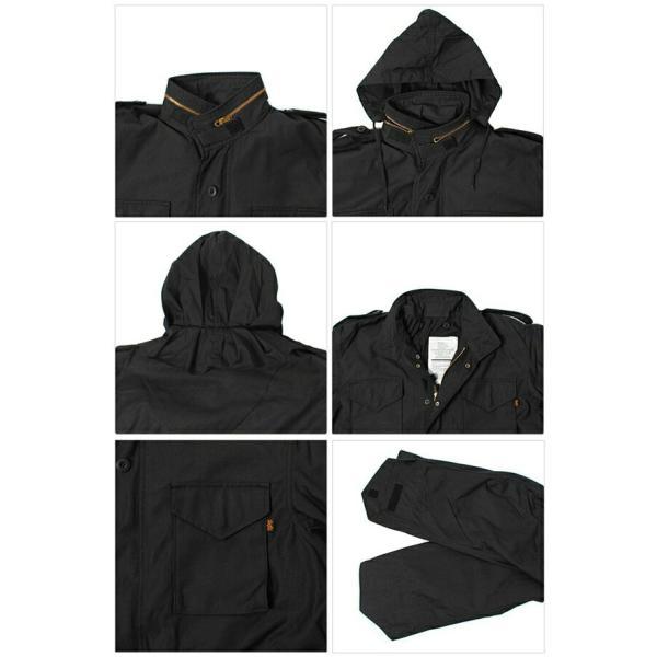 ALPHA アルファ ジャンバー メンズ M-65 フィールド ジャケット コート 2006-0005|hi-style|02