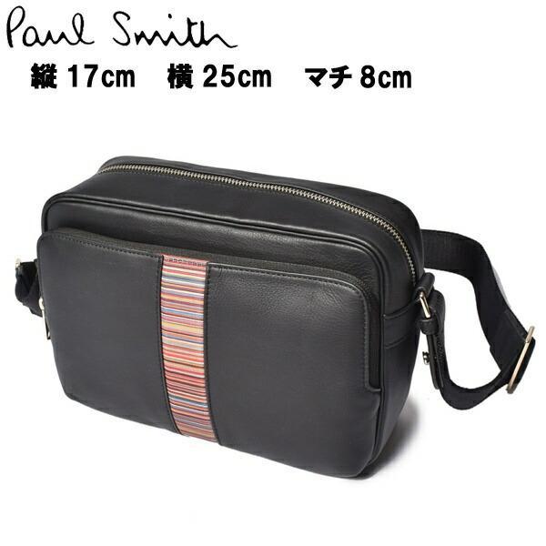 ポール スミス メンズ レディース ショルダーバッグ クロスボディ PAUL SMITH 60340130