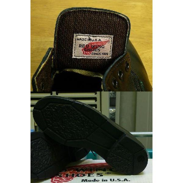 REDWING レッドウィング ブーツ ポストマン 107 メンズ 黒 85300037|hi-style|03