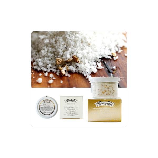 白トリュフ塩 タートフランゲ社製 イタリア 最高級 アルバ産 白トリュフ塩 白トリュフソルト 100g 食塩 エキストラファインソルト使用|hi-syokuzaishitsu