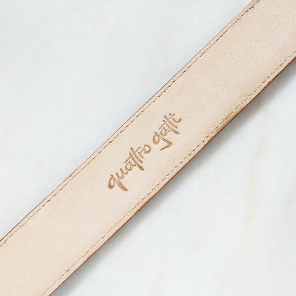 ベルト ワニ革 クロコダイル メンズ 本革 ダークレッド 日本製 クアトロガッティ イタリア製 バックル 35mm スーツ カジュアル|hiandless|05