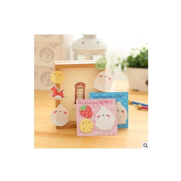 付箋 かわいいミニミニふせん いちご 木馬 ケーキ ことりシール 付箋|hiatariryoukou|02
