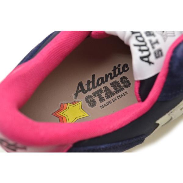 Atlantic STARS アトランティックスターズ レディース スター 星 スニーカー has004 VEGA NWF-09NY:ネイビー
