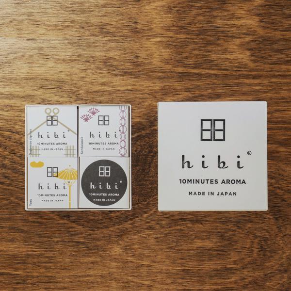 和の香り3種ギフトボックス(ペーパーバッグ付)|hibi-aroma