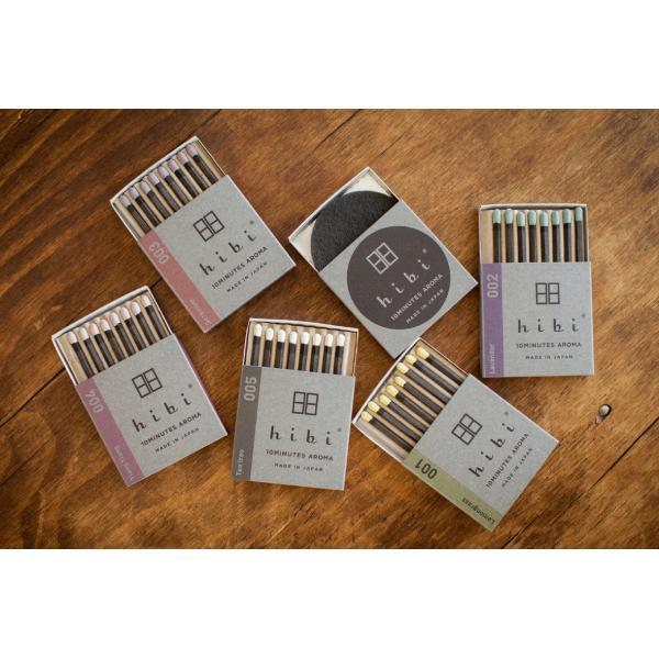 5つの香りギフトボックス(ペーパーバッグ付)|hibi-aroma|02