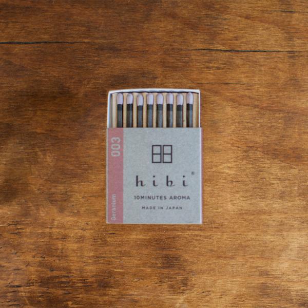 レギュラーボックス ゼラニウム|hibi-aroma