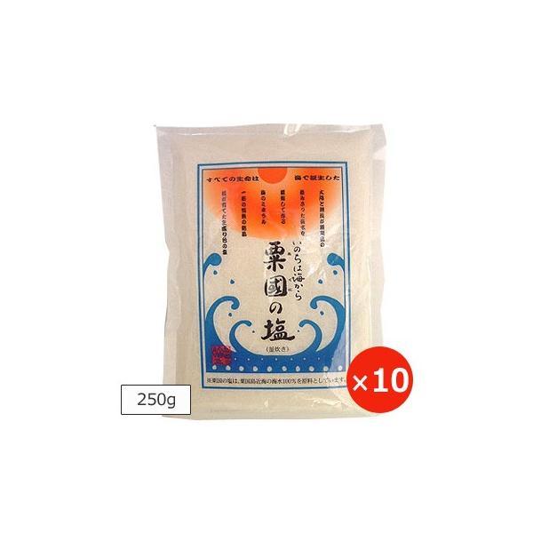 粟国の塩 釜炊き 250g×10個 送料無料