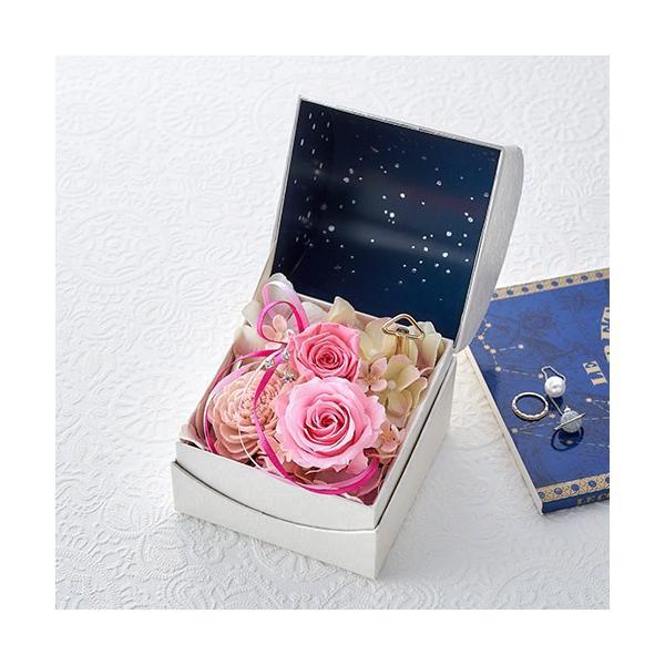日比谷花壇 プリザーブドフラワー  5色から選べる 「オルゴールフラワー(星に願いを)」|hibiyakadan|06
