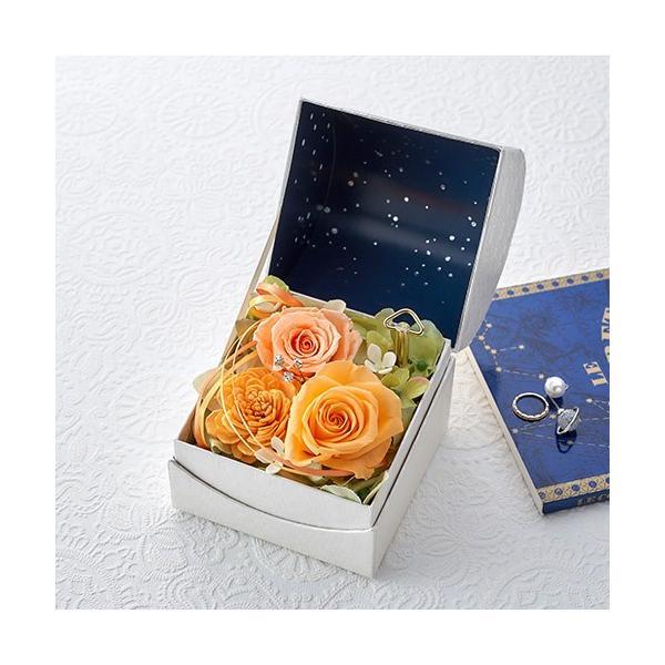 日比谷花壇 プリザーブドフラワー  5色から選べる 「オルゴールフラワー(星に願いを)」|hibiyakadan|07