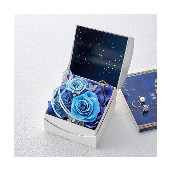 日比谷花壇 プリザーブドフラワー  5色から選べる 「オルゴールフラワー(星に願いを)」|hibiyakadan|08