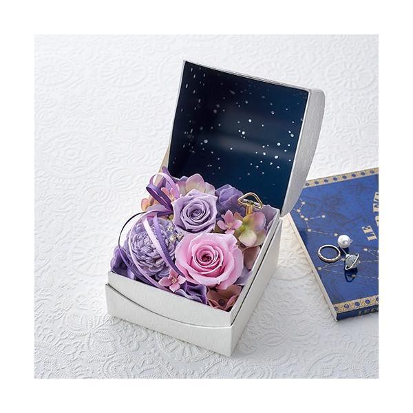 日比谷花壇 プリザーブドフラワー  5色から選べる 「オルゴールフラワー(星に願いを)」|hibiyakadan|09