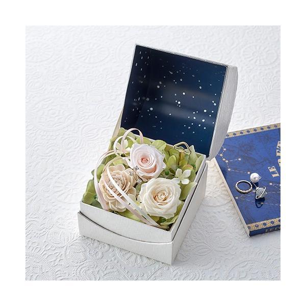 日比谷花壇 プリザーブドフラワー  5色から選べる 「オルゴールフラワー(星に願いを)」|hibiyakadan|10