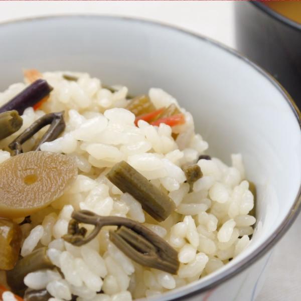 山菜五目 醤油めしの素 炊き上がったごはんに混ぜるだけ カンタン ラクうま お取り寄せ|hida-yama-sachi|03