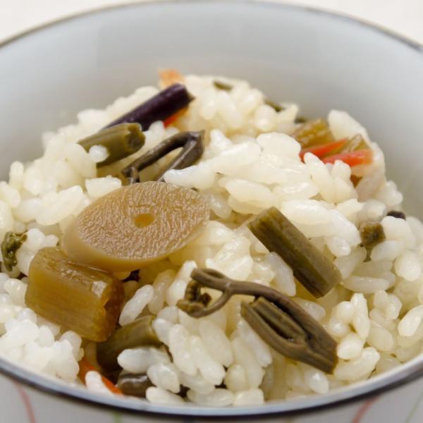 山菜五目 醤油めしの素 炊き上がったごはんに混ぜるだけ カンタン ラクうま お取り寄せ|hida-yama-sachi|04