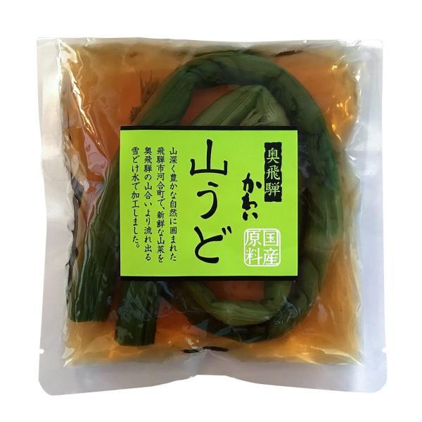 山菜 山うど醤油漬 100g ご飯のお供 国産|hida-yama-sachi|02