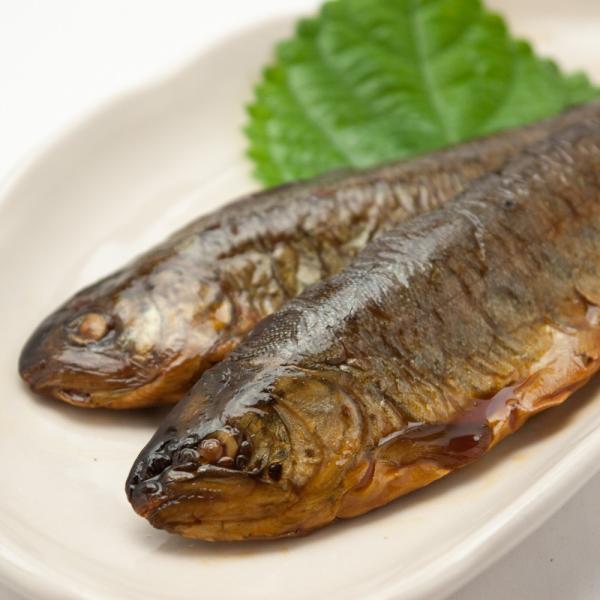 虹ますの甘露煮 ご飯のおかず 柔らかく骨まで食べ食べられます|hida-yama-sachi|04