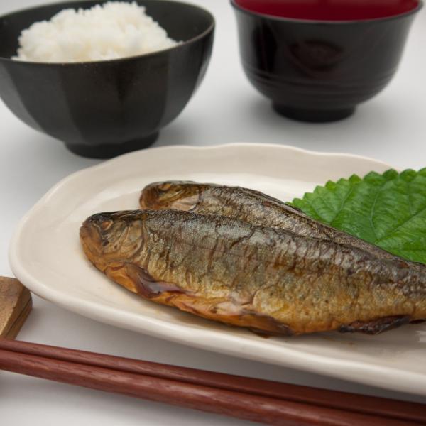 虹ますの甘露煮 ご飯のおかず 柔らかく骨まで食べ食べられます|hida-yama-sachi|05