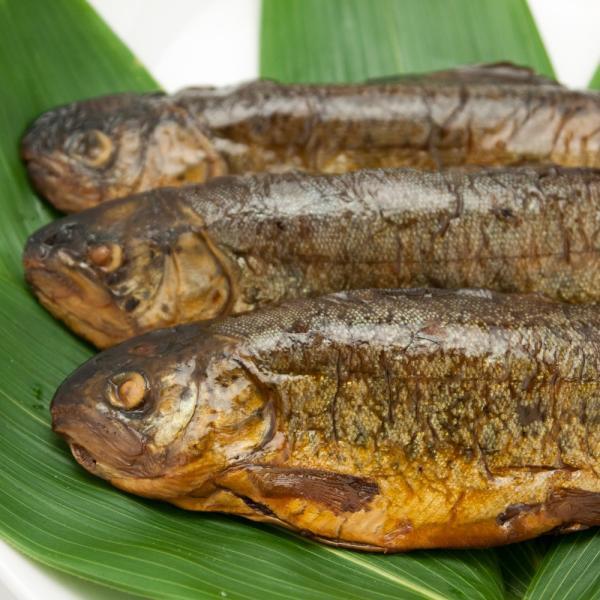 虹ますの甘露煮 ご飯のおかず 柔らかく骨まで食べ食べられます|hida-yama-sachi|06
