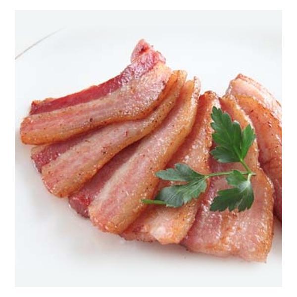 スモークベーコン/クール便発送 飛騨豚を特製漬け込み液で熟成 じっくりスモークし脂の旨味がたっぷり |hidabeef-kitchenhida|02