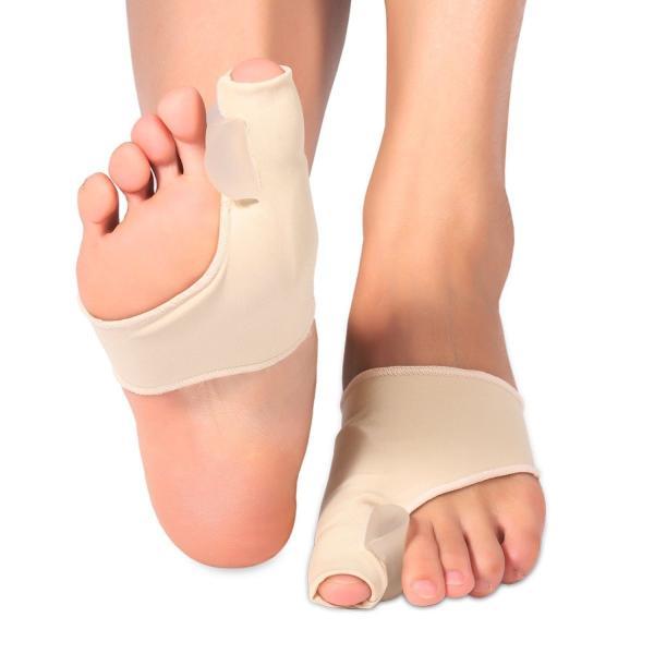 足指サポーター 足指パッド 指間ジュル入り フットケア 男女兼用 2個入